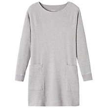 Buy Toast Waffle Jersey Tunic Dress, Grey Online at johnlewis.com
