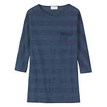 Buy Toast Misato Midi Tunic Dress, Blue Online at johnlewis.com