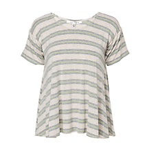 Buy Max Studio Short Sleeve Stripe Top Online at johnlewis.com