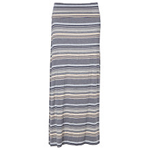 Buy Max Studio Maxi Skirt, Indigo/Natural Online at johnlewis.com
