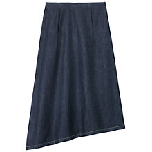 Buy Toast Mori Lightweight Denim Skirt, Indigo Online at johnlewis.com