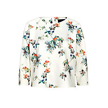Buy Minimum Stinne Top, Broken White Online at johnlewis.com
