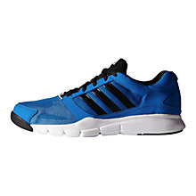 Buy Adidas Essentials Star Men's Cross Trainers, Blue/Black Online at johnlewis.com