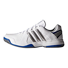 Buy Adidas Response Approach Men's Tennis Shoes, White/Silver Online at johnlewis.com