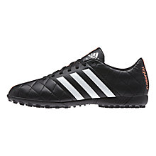 Buy Adidas 11Questra TF Football Boots, Core Black Online at johnlewis.com