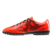 Buy Adidas F5 TF Men's Football Boots, Solar Red/Core Black Online at johnlewis.com