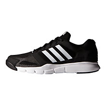 Buy Adidas Essentials Star Men's Cross Trainers, Core Black/White Online at johnlewis.com