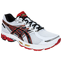 Buy Asics Gel Phoenix 6 Men's Running Shoes, White/Red Online at johnlewis.com