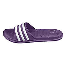 Buy Adidas Taedia Zoon Women's Pool Slides, Purple Online at johnlewis.com