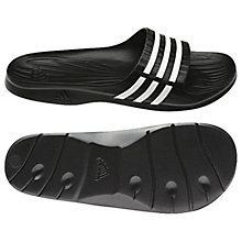 Buy Adidas Duramo Sleek Pool Slides Online at johnlewis.com
