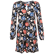 Buy Miss Selfridge Floral Shift Dress, Multi Online at johnlewis.com