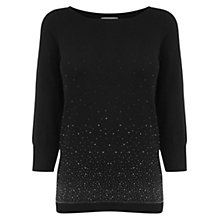 Buy Oasis Ombre Hotfix Jumper Online at johnlewis.com