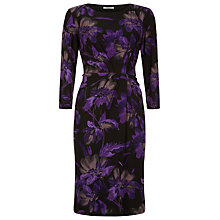 Buy Precis Petite Floral Dress, Multi Purple Online at johnlewis.com