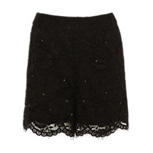 Buy Coast Katkin Shorts, Black Online at johnlewis.com