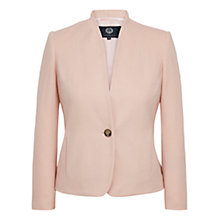 Buy Viyella Petite Brushed Jacket, Shell Pink Online at johnlewis.com
