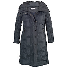 Buy Chesca Quilted Bonfire Coat, Steel Online at johnlewis.com