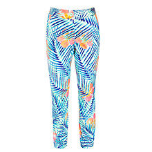 Buy John Lewis Girl Tropical Print Trousers, Multi Online at johnlewis.com