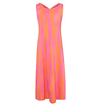 Buy Kin by John Lewis Girls' Stripe Maxi Dress, Raspberry/Orange Online at johnlewis.com