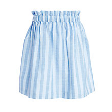 Buy Kin by John Lewis Girl Stripe Skirt, Blue Online at johnlewis.com