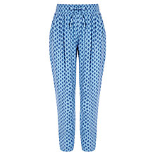 Buy John Lewis Girl Fashion Print Trousers, Blue Online at johnlewis.com