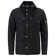 Buy Diesel J-Crive Hooded Jacket, Black Online at johnlewis.com