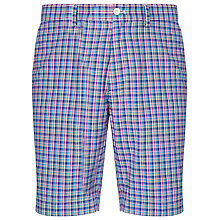 Buy Polo Golf by Ralph Lauren Driver Shorts, Sapphire Star Multi Plaid Online at johnlewis.com