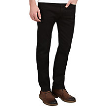 Buy Diesel Buster Tapered Jeans, Black 0886Z Online at johnlewis.com