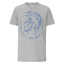 Buy Diesel T-Zosimor Printed T-Shirt Online at johnlewis.com