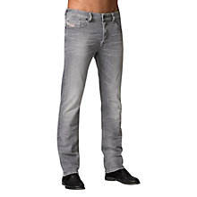 Buy Diesel Waykee 0839N Straight Jeans, Grey Online at johnlewis.com