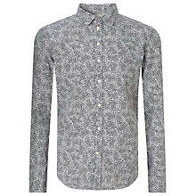 Buy Diesel S-Giamma Paisley Print Shirt, White Online at johnlewis.com