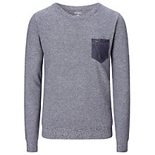 Buy Diesel K-Ramaria Crew Neck Jumper, Blue Online at johnlewis.com