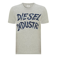 Buy Diesel Industry Crew Neck T-Shirt Online at johnlewis.com