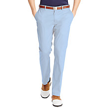 Buy Polo Golf by Ralph Lauren Driving Chino Trousers, Light Blue Online at johnlewis.com