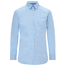 Buy Diesel S-Tomiko Cotton Shirt, Sky Blue Online at johnlewis.com
