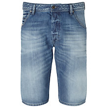 Buy Diesel Kroshort Denim Shorts, Light Wash Online at johnlewis.com