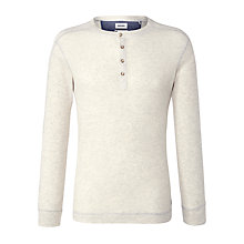 Buy Diesel T-Serak Long Sleeve Jersey Top, Natural Online at johnlewis.com