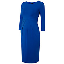 Buy Isabella Oliver Ivybridge Maternity Dress, Cobalt Blue Online at johnlewis.com