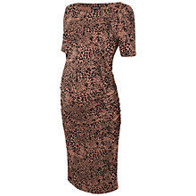 Buy Isabella Oliver Clement T-Shirt Maternity Dress, Animal Print Online at johnlewis.com