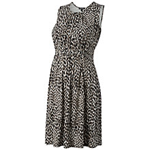 Buy Isabella Oliver Iffley Print Maternity Dress, Taupe Online at johnlewis.com