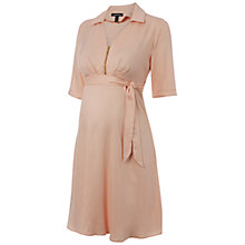 Buy Isabella Oliver Cranleigh Maternity Dress, Pink Online at johnlewis.com