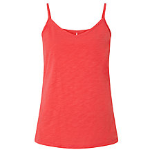 Buy Collection WEEKEND by John Lewis Strappy Slub Cotton Vest Online at johnlewis.com