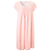 Buy John Lewis Scoop Neck Pintuck Linen Dress Online at johnlewis.com