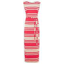 Buy Collection WEEKEND by John Lewis Stripe Maxi Dress, Pink/Ecru Online at johnlewis.com