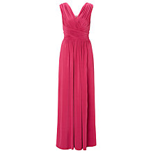 Buy John Lewis Frances Jersey Maxi Dress, Pink Online at johnlewis.com