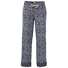 Buy White Stuff Tree Print Pyjama Bottoms, Laguna Online at johnlewis.com