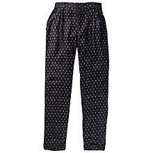 Buy Fat Face Primrose Ditsy Print Trousers, Phantom Online at johnlewis.com
