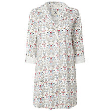 Buy White Stuff Hedgehog Print Nightshirt, Iced Frappe Online at johnlewis.com