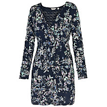 Buy Fat Face Windsor Spray Floral Tunic, Navy Online at johnlewis.com