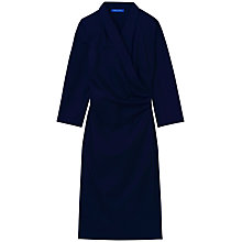 Buy Winser London Shawl Dress, Midnight Blue Online at johnlewis.com