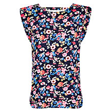Buy Louche Floral Print Top, Multi Online at johnlewis.com